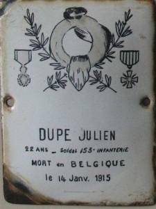 DUPE Julien
