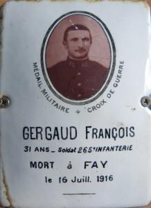GERGAUD François