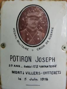 POTIRON Joseph