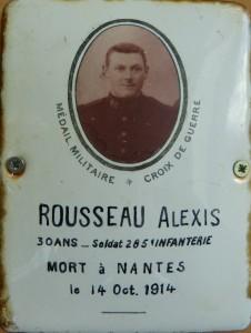 ROUSSEAU Alexis