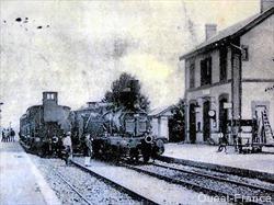 croisement trains gare