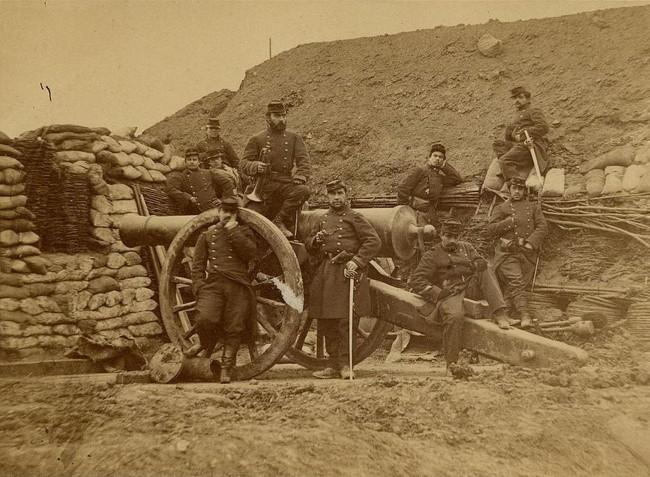 2 soldats pendant le siège de Paris