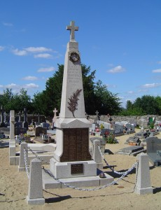 3 Le monument aux morts